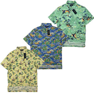 NWT-Polo-Ralph-Lauren-Men-Floral-SOFT-TOUCH-Polo-Shirt-S-M-L-XL-XXL-Big-amp-Tall