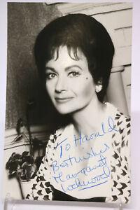 Original Autogramm Autograph MARGARET LOCKWOOD Foto