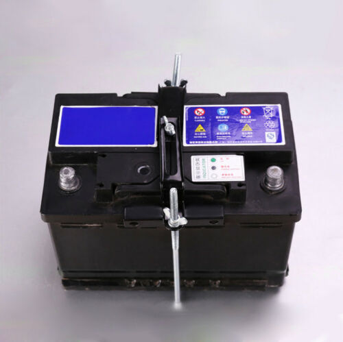 Car Storage Battery  Holder Adjustable Stabilizer Metal Rack Mount Bracket Stand