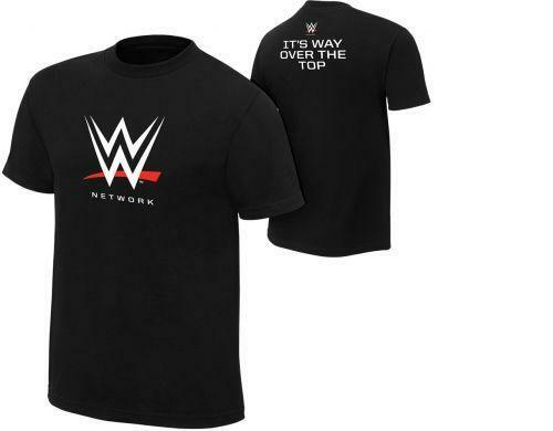Official WWE Network Logo Authentic T-Shirt