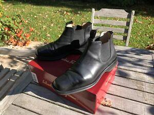 Boots Ferragamo nera 2 42 pelle in Scarpe 8 1 Hnxfq8nU