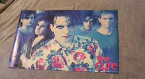 Cure 1990 Robert Smith Jason Cooper Simon Gallup Jason Cooper Poster #P7114 VG