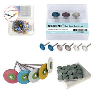 Dental Rubber Diamond/Silicone Polisher Wheel/Composite Polishing Disc/Brushes