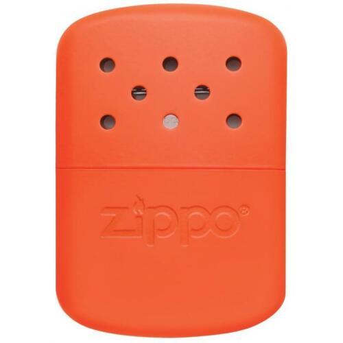Heures Chauffe-Main EDC survie camping randonnée Zippo Réutilisable Blaze Orange 12