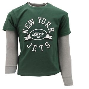 New York Jets Official NFL Apparel Youth Kids Size Long Sleeve Shirt  hot sale