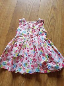 2ed9cedd48d3 Blue zoo Girl 3-6month Dress butterfly multi coloured. Pretty summer ...