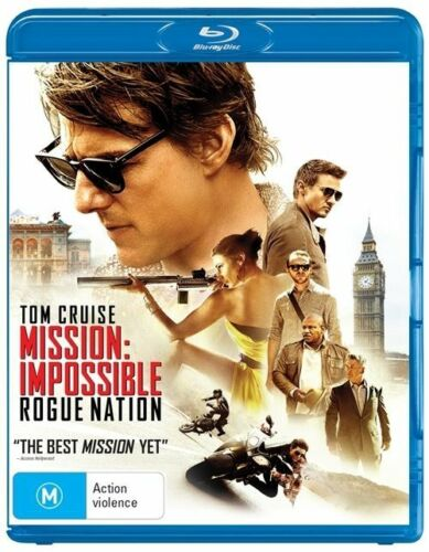 1 of 1 - Mission Impossible - Rogue Nation (Blu-ray, 2015)