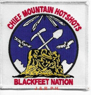 """Bitterroot  R-1 Hotshots Montana Wildland 4.5/"""" x 4/"""" size fire patch"""