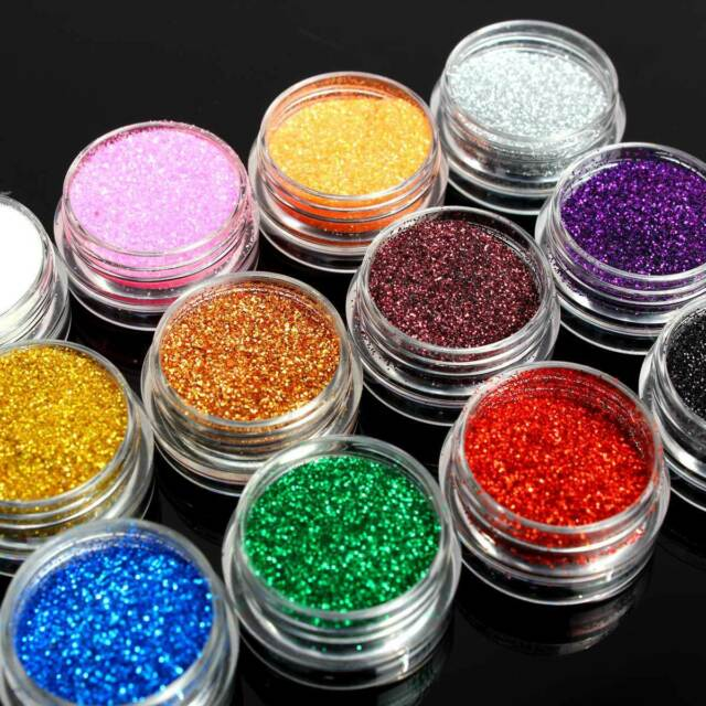 Holographic Glitter Pots - For Face Painting Eye Shadow Body Nail Art Powder
