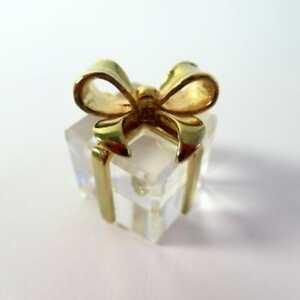 ffbee83b9eba Swarovski Crystal Memories Classics - Present w  Bow - In Original ...