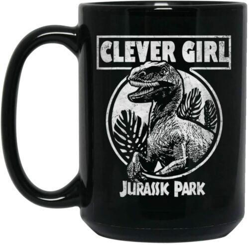 Jurassic Park Distressed Teal Raptor Clever Girl Mug 11oz//15oz
