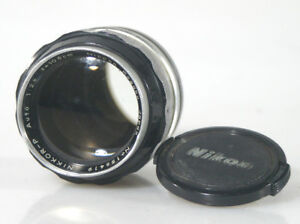 NIKON-105MM-F2-5-NAI-PRIME-LENS-WITH-FRONT-AND-REAR-CAPS