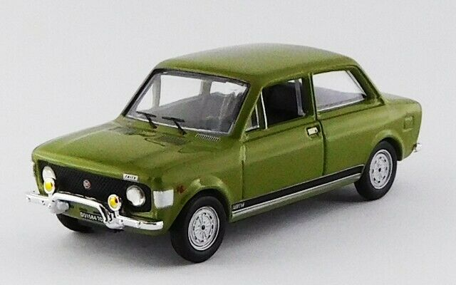 FIAT 128 RALLY - 1971 - green green 1 43 RIO4564 Made in