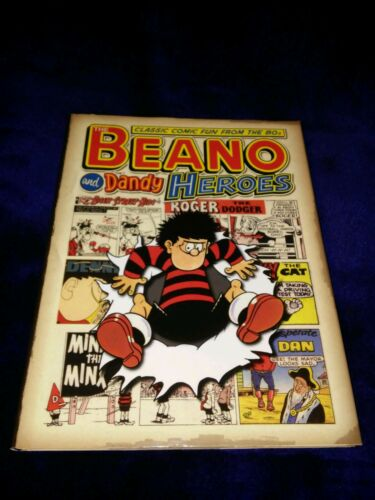 1 of 1 - Classic Beano and Dandy: Heroes - Classic Fun from the 80's: v.23 by D.C.Thomson