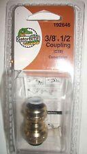 NEW GatorBite Gator Bite - 3/8 x 1/2 coupling -PN.192646