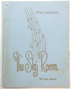 1960-039-s-Vintage-Menu-amp-Wine-List-THE-SKY-ROOM-Tri-City-Airport-Freeland-Michigan