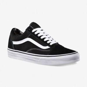 Détails sur Vans Old Skool Chaussures De Skate NoirBlanc UK Taille 8.5 et 9.5 (tout en stock dernière) afficher le titre d'origine