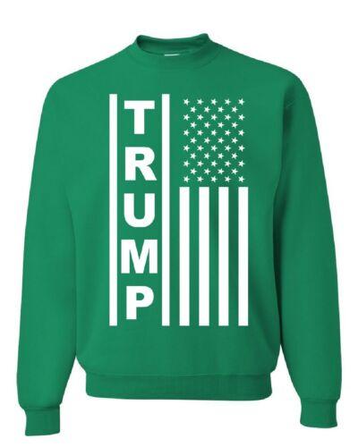 Trump Flag MAGA Republican Sweatshirt American President Sweater