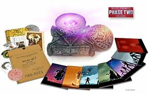 NEW-Marvel-Cinematic-Universe-Phase-Two-Blu-Ray-Collector-039-s-Iron-Man-Avengers