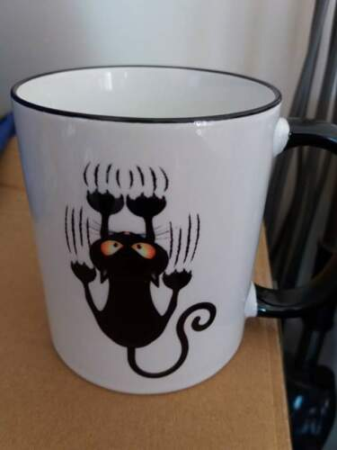 New Start Cat Rescue Hanging On  Mug