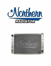 "Aluminum Racing Radiator GM Chevy Style 16"" x 26"" Low Profile Northern 209657"