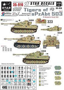 Star-Decals-1-35-Tigers-sPzAbt-503-pt3-Generic-No-3-Komp-Kursk-1943-35916