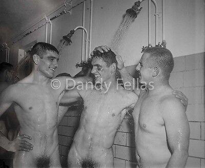 Jocks nude in the shower