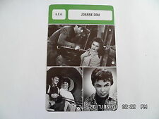CARTE FICHE CINEMA JOANNE DRU