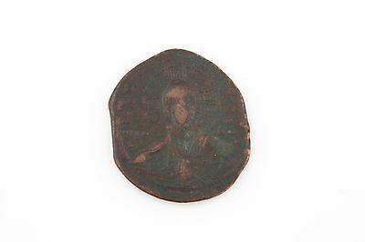 1025 Roman Byzantinisch Ae Follis Vf Basil Ii Constantine Viii Jesus Christus S Neueste Technik Münzen Mittelalter Byzantinische Münzen