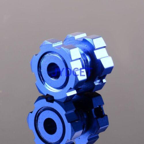 Details about  /TRV5353X Blue Anodized 17mm Wheel Hex Hubs Splined Revo E-Revo E//T-Maxx