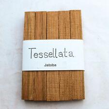 Cinque SPAZI LEGNO JATOBA PER LA TORNITURA DELLA PENNA e piccoli progetti lavorazione del legno
