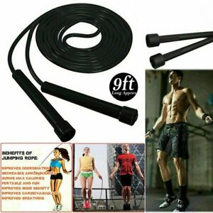 Skipping Rope Adjustable Jumping Boxing Fitness Exercise Speed Rope Training Gym 5055825745396 Ebay
