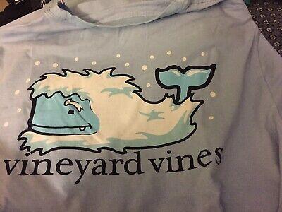 Vineyard Vines Men/'s Jake Blue Mermaids Whale Graphic Long Sleeve Pocket T-Shirt