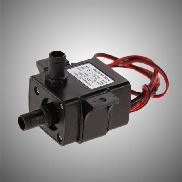 Brand New Genuine DC Water pump 240L/H 12V Mini Ultra Quiet Black Pump F7