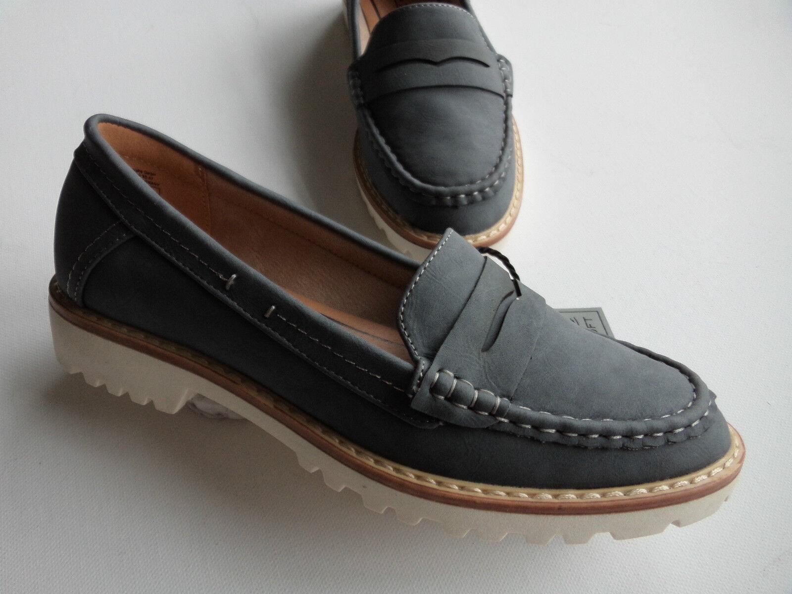 NEU  Jane  Klain  Bootsschuh Slipper  jeansblue Wildlederoptik  Größe  36 - 41
