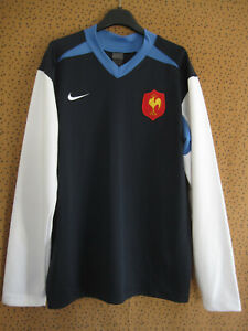 Maillot Rugby Equipe QUINZE de FRANCE FFR Nike manche longue polyester - M
