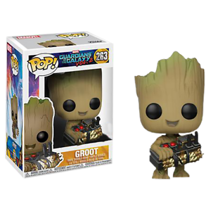 Guardians of of of the Galaxy GROOT w  BOMB Exclusive Funko Pop Vinyl Figure NEW RARE bcec0d