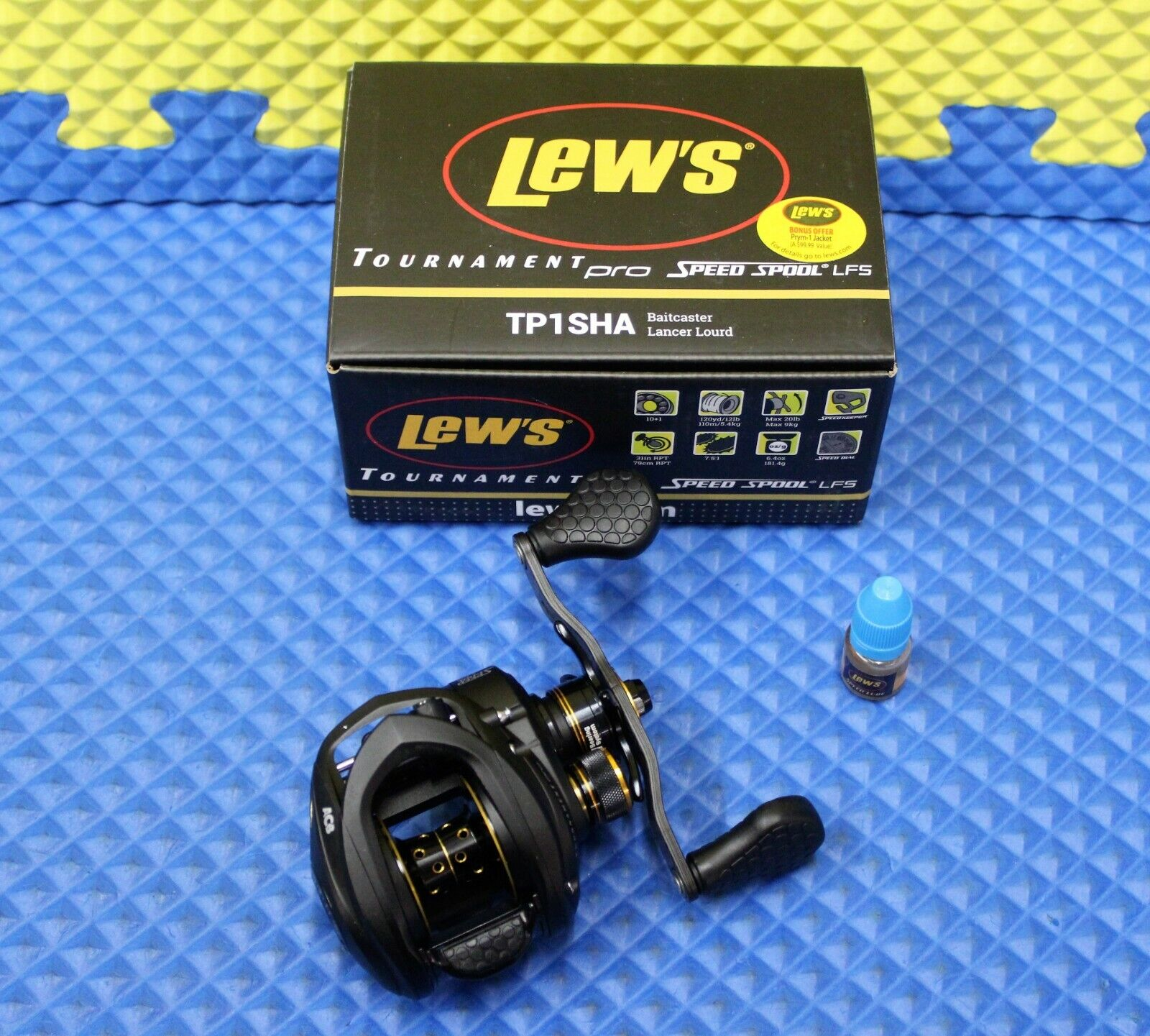 Lew's Tournament Pro Speed Spool LFS Series Baitcaster Reel 10BB  1ZRCB TP1SHA