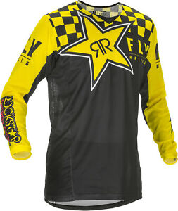 NEW 2019  FLY RACING  KINETIC ROCKSTAR MOTORCYCLE JERSEY ALL SIZES BMX ATV UTV