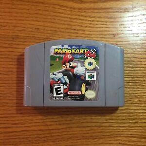 Mario-Kart-64-Nintendo-64-N64-Authentic-Game-Cartridge