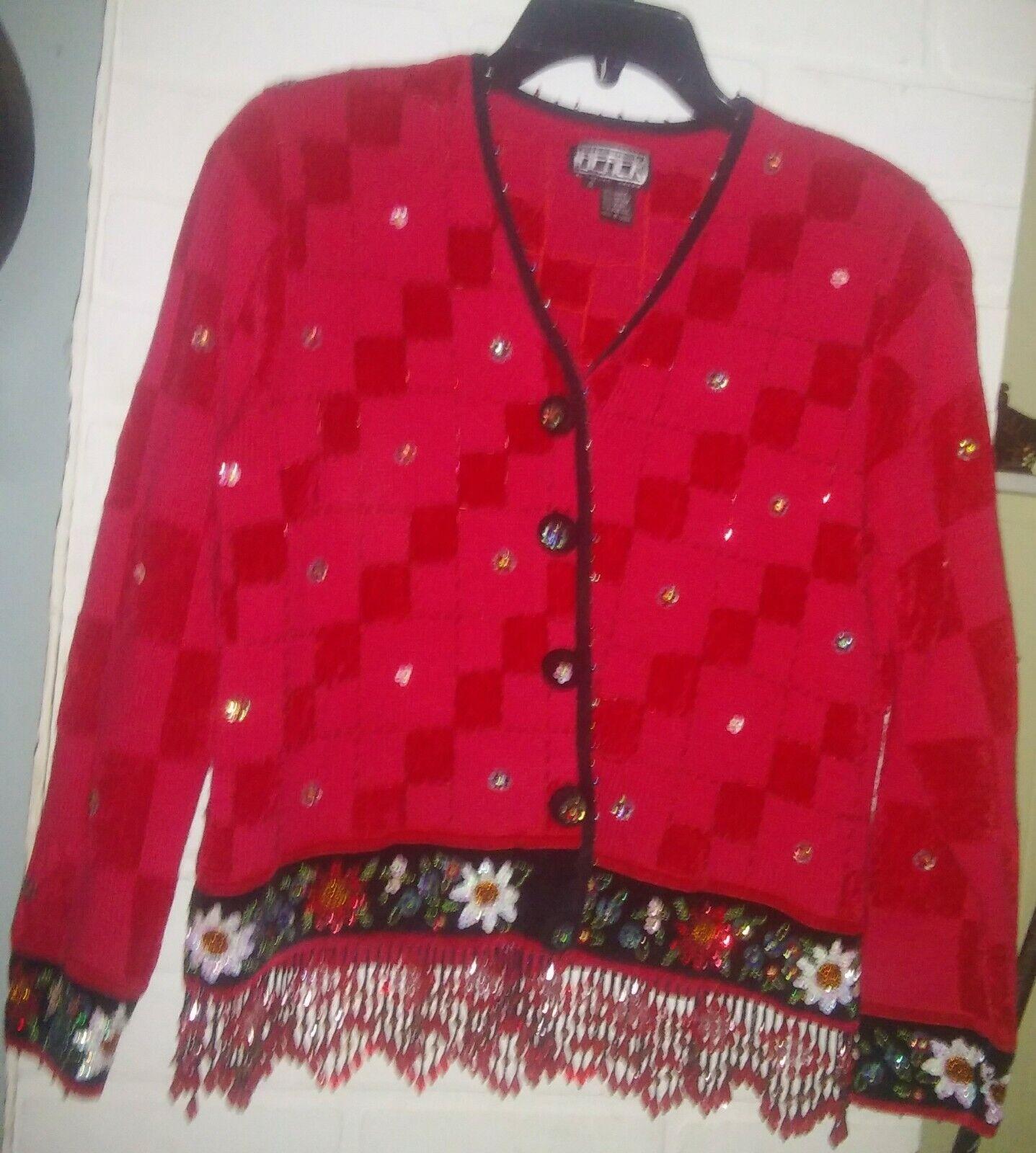 Berek Beaded Cardigan Sweater Beautiful