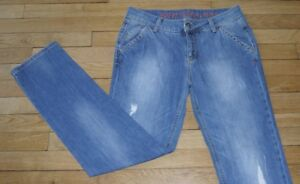ESPRIT-Jeans-pour-Femme-W-28-L-32-Taille-Fr-38-Ref-M083