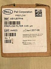 Pall Ab1ub7ph4 Preflow Filter Cartridge 045 Pm Free Shipping