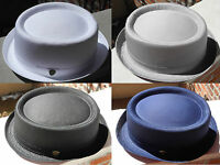 Cool Summer 100% Cotton Pamoa Pork Pie Hat With Band