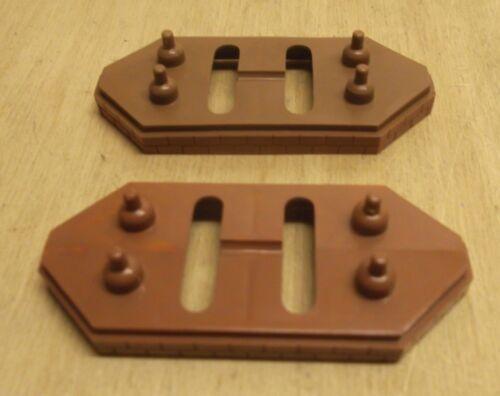 2 X Märklin h0 7065 ponti pilastro 6 mm in buone condizioni senza estensione