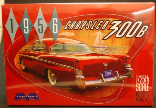 neu 1956 Chrysler 300 B Moebius 1207 2014 New Tool 1:25 neues Werkzeug neu