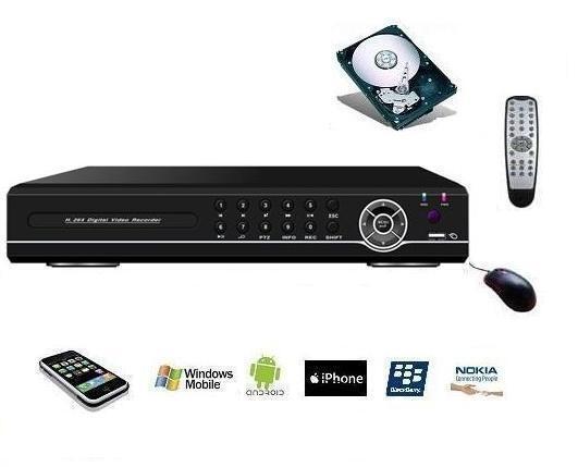 Enregistreur vidéosurveillance 8 camétras ana ou IP, DVR   NVR 1080P ONVIF