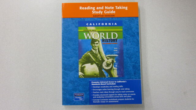 Reading And Note Taking Study Guide Prentice Hall World History The Modern Worl