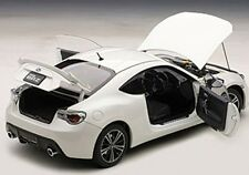 Autoart SUBARU BR-Z WR WHITE in 1/18 Scale. New Release! In Stock!