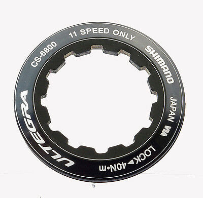 Shimano Ultegra 6800 11 speed lockring